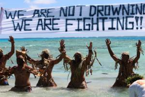 We are not drowning. We are fighting